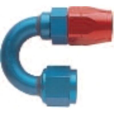 Alu. 180° csatlakozó adapter menet: 7/8-14 UNF cső: Dash 10(E 818010)