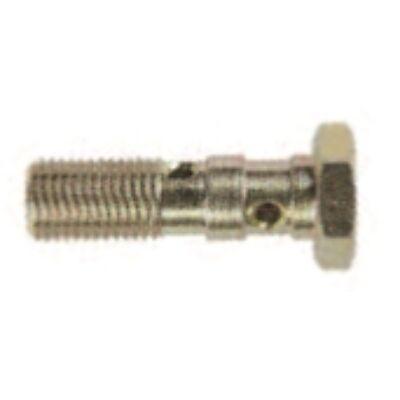 Dupla üreges csavar M10x1 mm krómozott/hosszú