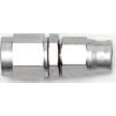 Egyenes acél forgócsatlakozós adapter menet: 7/16 UNF cső: D-04 (2013-0)