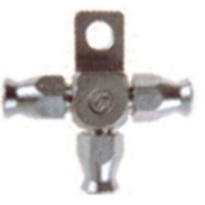 Adapter karosszérián átvezetéshez D-03 csőcsatlakozással 3x D-03 rozsdamentes acél