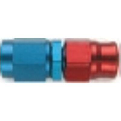 Egyenes forgó csatlakozóval menet: 7/16 UNF cső: D-04 anyag: alumínium