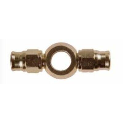 Gyűrű dupla csatlakozással (RÖVID)  3/8 (10mm) Dash 3 acél (2031-0)