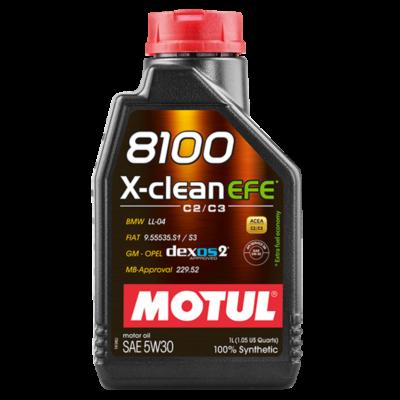 Motul 8100 X-Clean EFE 5W30 1 liter