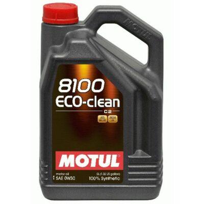 Motul 8100 Eco-clean 0W30 5 liter