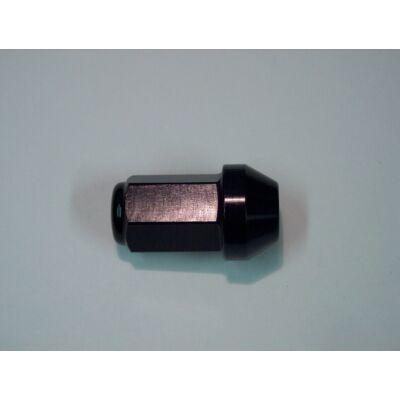 Eloxált alumínium rádiuszos kerékanya zárt M12x1.25