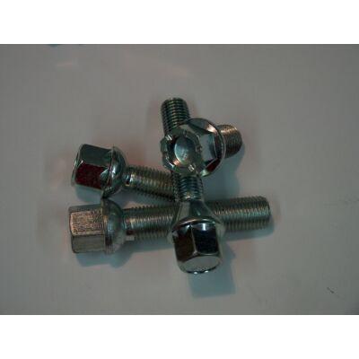 Acél kúpos kerékcsavar M12x1.25 60° 30mm