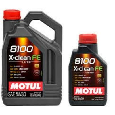 Motul 8100 X-cleanFE 5W30 5 liter